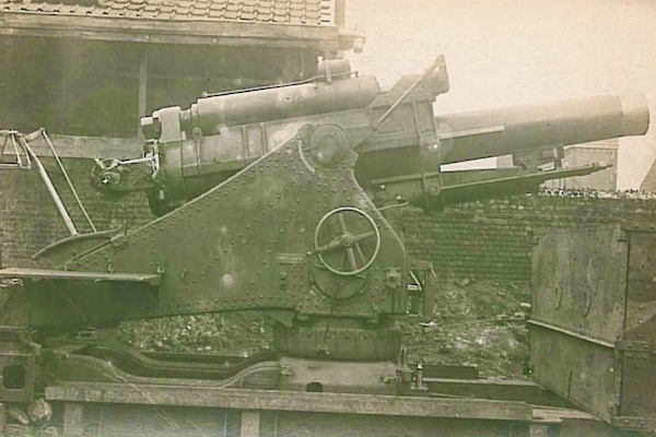 BL 9.2 inch Howitzer known as Mother
