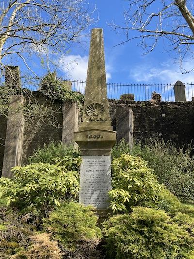 Purlie Wilson's memorial