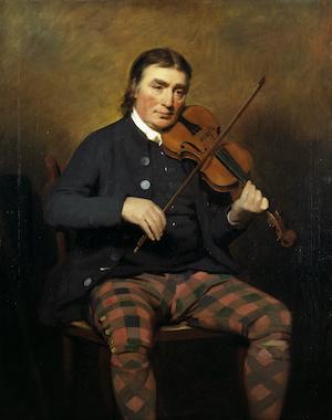 Niel Gow, portrait National Galleries of Scotland.