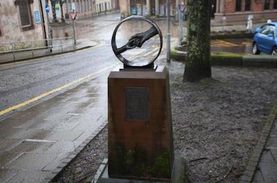 Memorial of the Greenock Massacre in